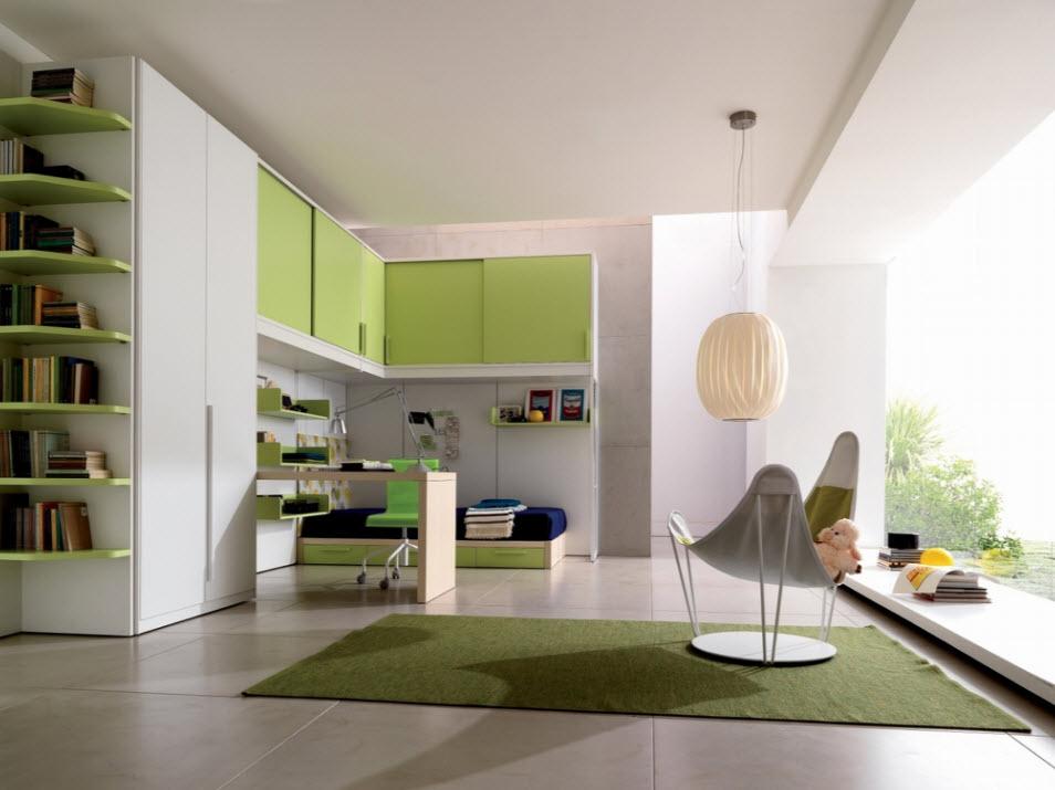 Цветовые схемы для комнаты мальчика-подростка: 60 примеров фото