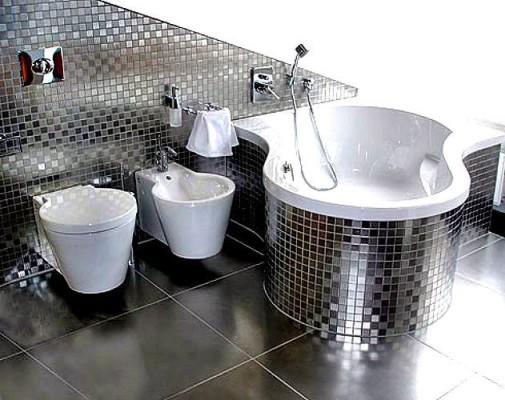Плитка мозаика для ванной комнаты. дизайн и фото