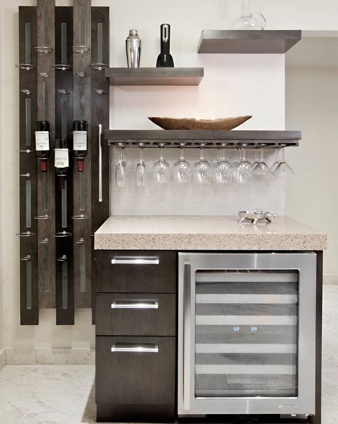 Дизайн кухни - 37 фото с холодильником