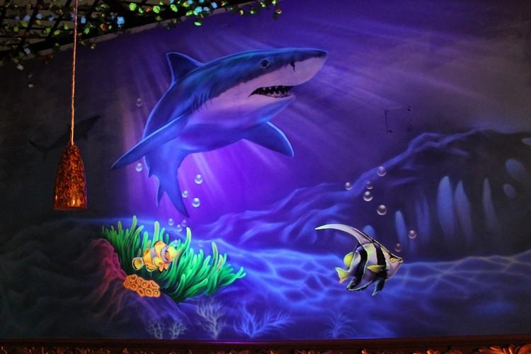 Великолепные картинки, светящиеся в ультрафиолете