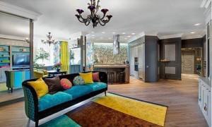 Дизайн квартиры в стиле фьюжн, принципы оформления