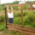 Как сделать забор своими руками. пошаговая инструкция с фото
