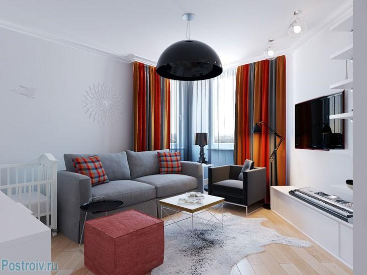 Интерьер квартиры в киеве 36 кв. м. фото