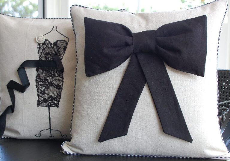 Идеи декоративных подушек своими руками