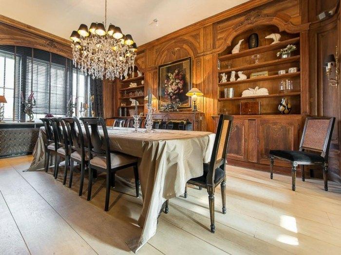 Интерьер дома в классическом стиле — 20 фото