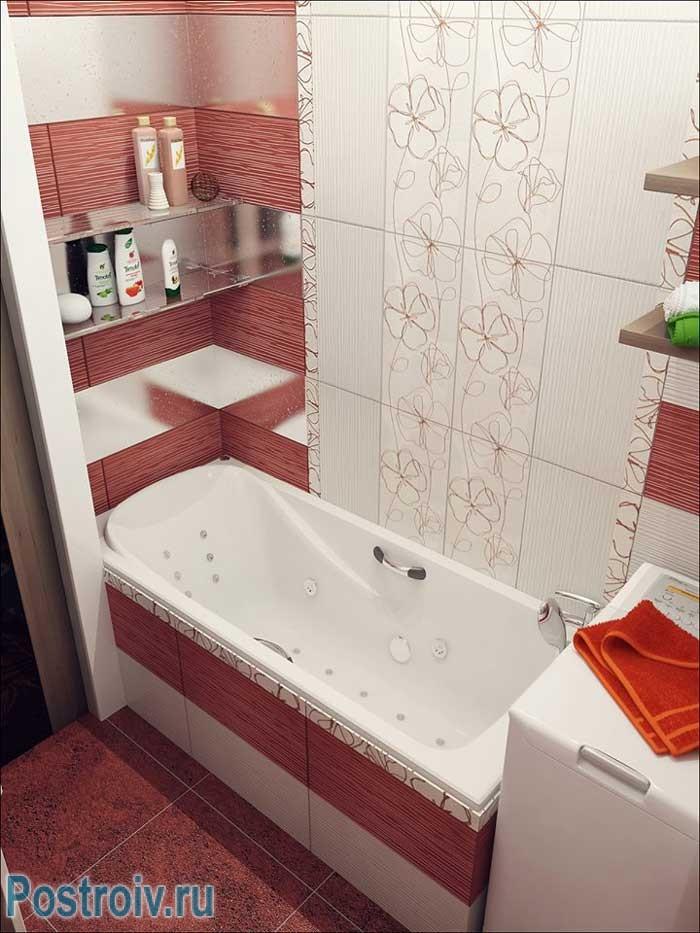 4 Дизайна ванных, совмещенных с туалетом: оформляем маленькую ванную по современному