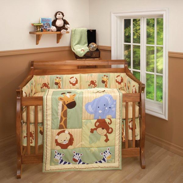 Детская комната в стиле джунглей 33 фото