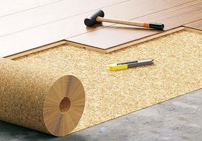 Как укладывать ламинат на деревянный пол - видео-инструкция