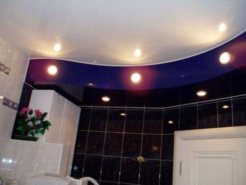 Потолочный светильник для ванной комнаты. виды и особенности