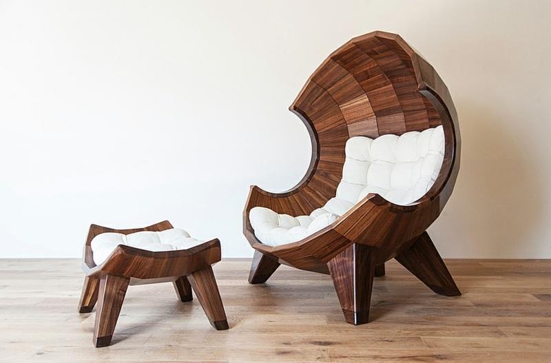 Кресло-качалка - романтика в доме: 55 примеров фото
