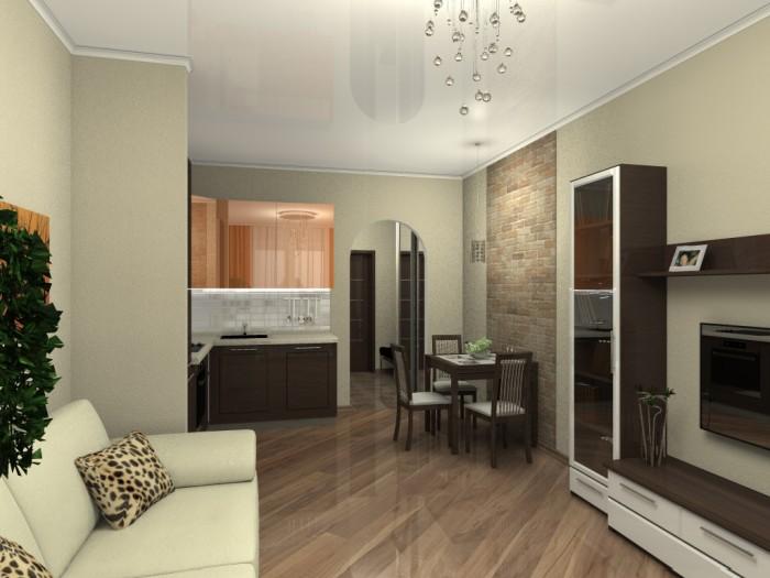 Дизайн комнаты 20 кв м в однокомнатной квартире