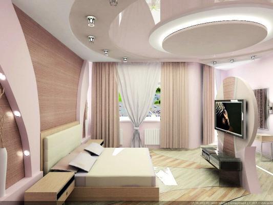 Дизайн и современные идеи для натяжных потолков