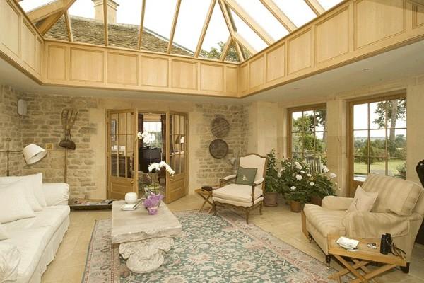 Планировка и дизайн интерьера загородного дома на фото