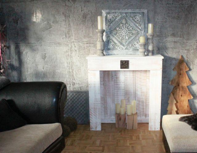 Декоративный камин своими руками - видео + 80 фото в интерьере