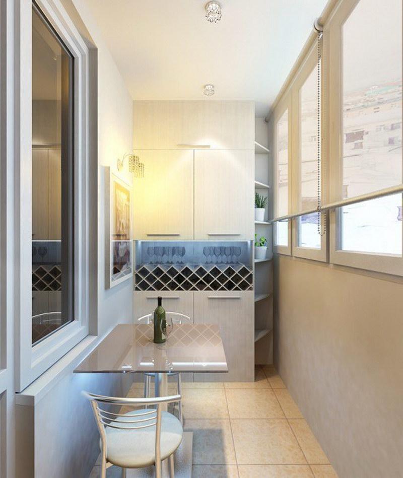 Шкаф на балконе - какие варианты самые подходящие? фото
