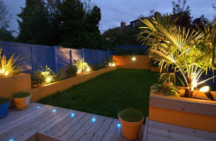 Пять идей ландшафтного освещения