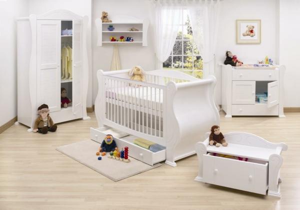 Интерьер комнаты для новорожденного — советы и фото