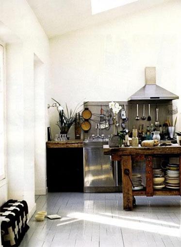 45 Кухонь в индустриальном стиле - фото