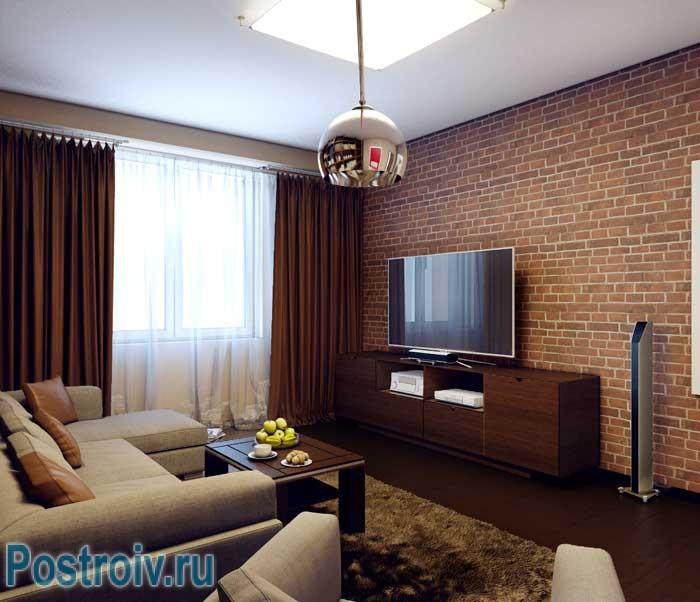 Дизайн 2-комнатной квартиры в современном стиле г. казань