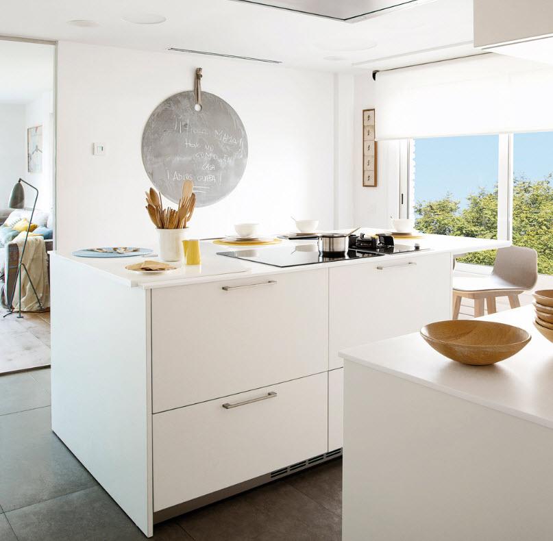 Современные шторы на кухню - какие выбрать? фото