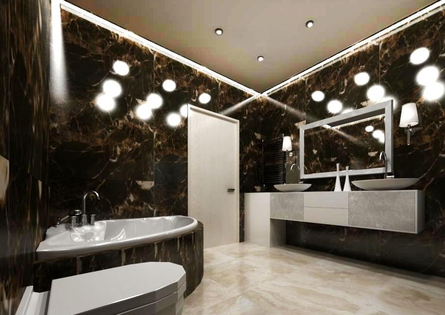 Дизайн-проект квартиры в стиле арт-деко
