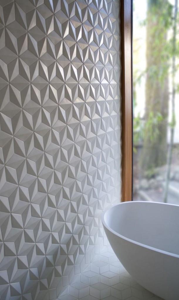 Варианты оформления маленькой ванной комнаты плиткой, 40 фото
