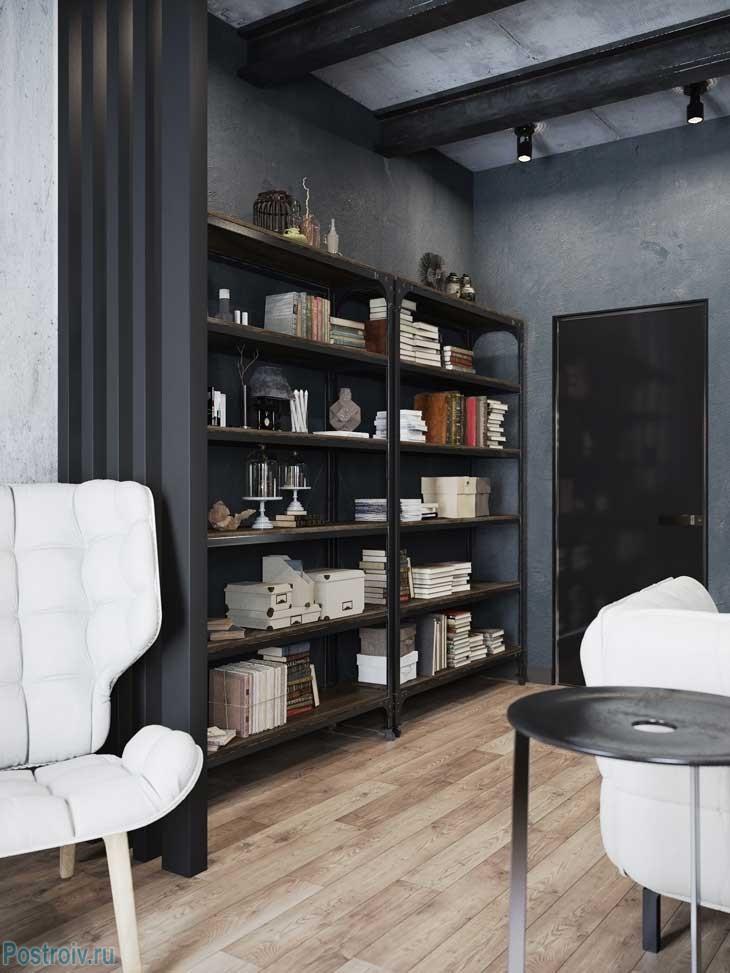 Стиль и вкус. двухкомнатная квартира в индустриальном стиле. фото проекта