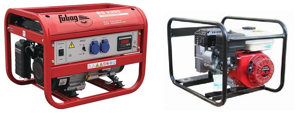 Бензиновые и дизельные генераторы для элекстроснабжения частного дома