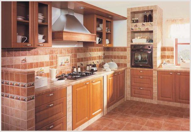 Плитка на кухне: как выбрать подходящую