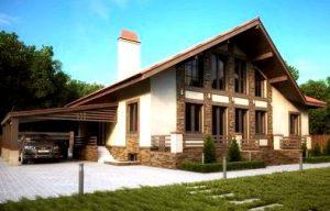 Дом для большой семьи в духе минимализма