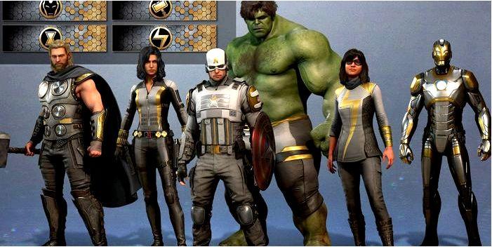 Marvel's Avengers: несколько лучших открываемых скинов от MateBall