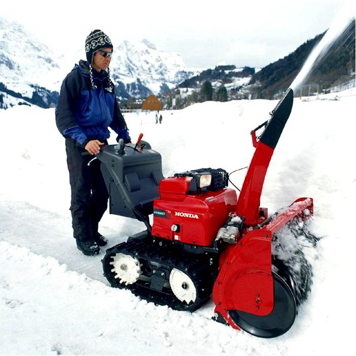 Виды и применение снегоуборочных машин