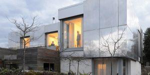 Невероятные дома с зеркальными фасадами