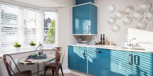 Бирюзовая кухня - мебель или стены: 60 фото интерьеров
