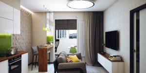Светлый дизайн малогабаритной квартиры. реальный пример. 18 фото
