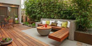 Скамейки из дерева - простое решение, непростой характер 30 фото