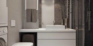 Дизайн ванной 4 кв. м. фото лучших современных идей (50 фото)