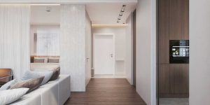 Дизайн квартиры 60 кв. м. в москве. фото проекта