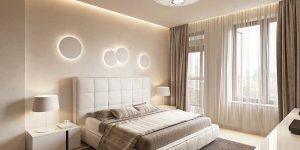 Дизайн комнаты 16 кв.м. фото спальни, гостиной и кабинета