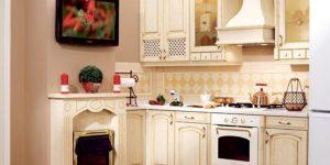 Дизайн кухни с вентиляционным коробом: правильная маскировка необходимой детали