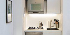 Интерьер маленькой кухни - 50 новых идей фото
