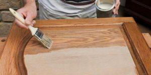 Как обновить старую кухонную мебель своими руками? фото до и после