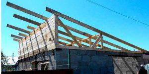 Как построить сарай своими руками с односкатной крышей поэтапно